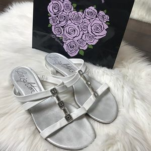 Brighton | Strappy Embellished Sandals